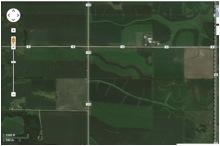 Satellite view of Nisbit mine