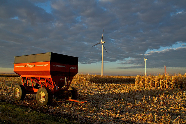 corn and turbine