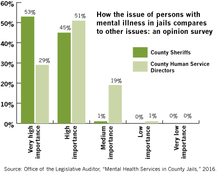 Importance of mental illness in jails