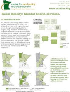 Mental health services fact sheet